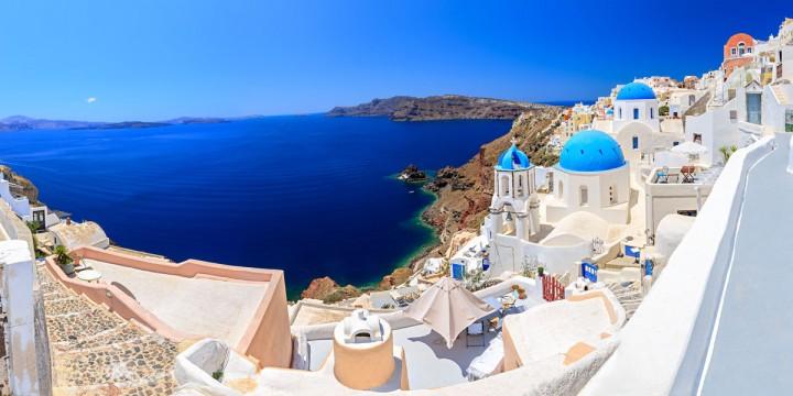 widok na grecje
