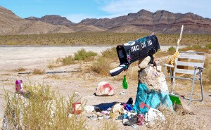 The Black Mailbox near Area 51